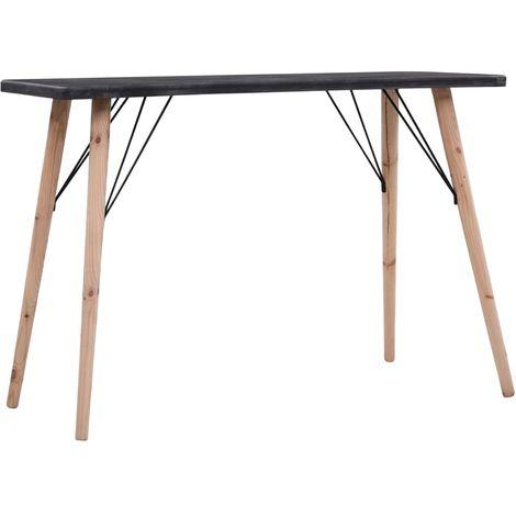 Console Table Concrete Finish 112x40x76 cm MDF