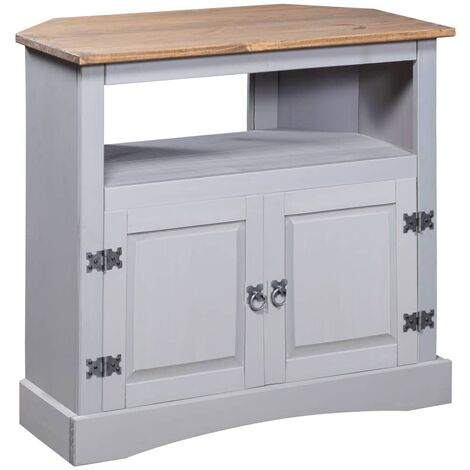 Console Table Mexican Pine Corona Range Grey 80x43x78 cm