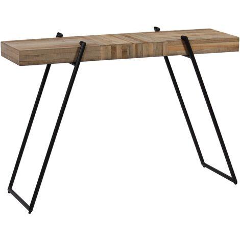 Console Table Reclaimed Teak 120x35x81 cm - Brown