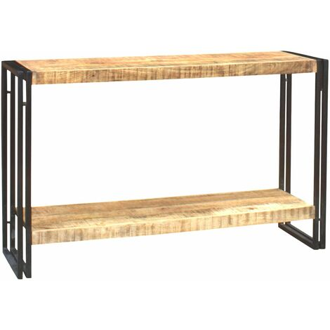 Console Table Upcycled Industrial Vintage