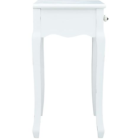 Console Table White 80x40x74 cm Wood