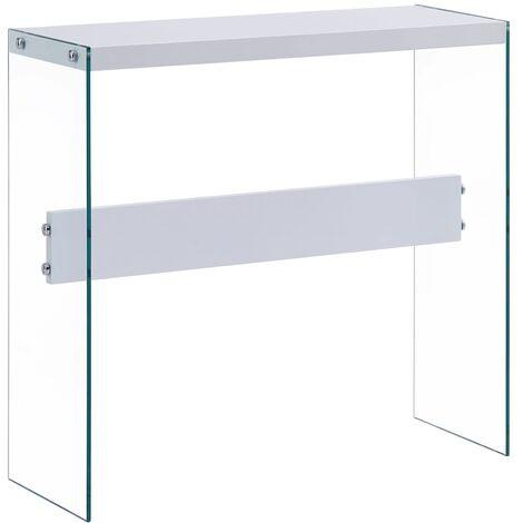 Console Table White 82x29x75.5 cm MDF - White
