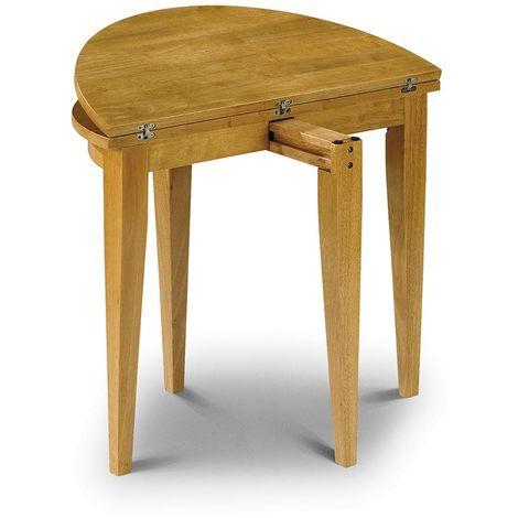 Consort Folding Dining Table Space Saving Honey Pine Finish