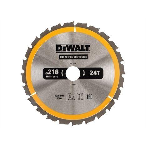 Construction Circular Saw Blades, 216mm