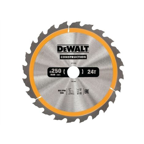 Construction Circular Saw Blades 250mm