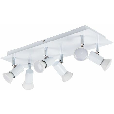 Consul 6 Way Adjustable Ceiling Spotlight