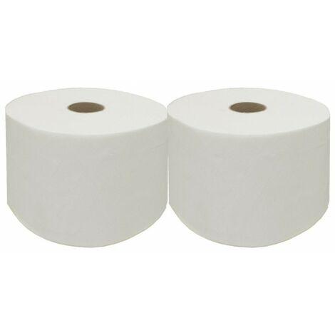 Consumible rollo bobina de papel tipo mecha (pack 2ud)- CM Baños