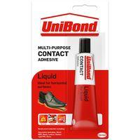 Contact Adhesive Liq Unibond 50g