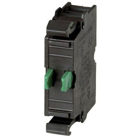 Contact auxiliaire Eaton M22-K10 NA de Vis de fixation Avant 216376
