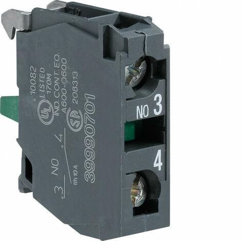 Contact auxiliaire interrupteur fusible 1x NO (HZF301)