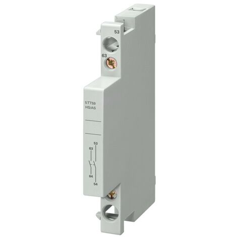 """main image of """"Contact auxiliaire Siemens 1NA+1NC pour 5TT50/58 230-400V 5TT59101"""""""