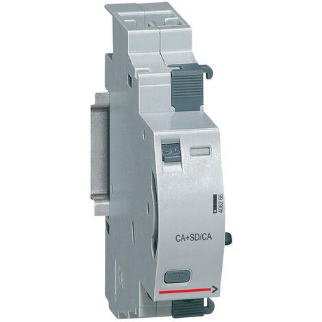 Contact auxiliaire + signal défaut inverseur DX³ - 6 A - 240 V~ - 406266