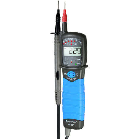 Contact voltage tester HP-38A shipped without battery