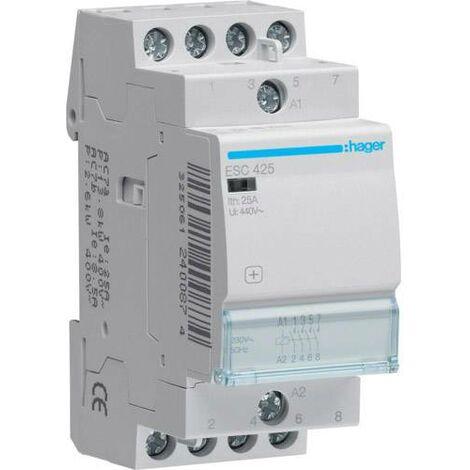 Contacteur 25 A 4 NF 230 V C138961