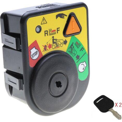 Contacteur à clé adaptable avec jeu de clés pour autoportée Cub Cadet et MTD