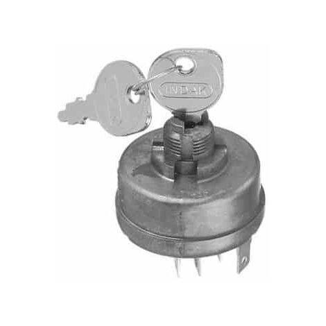 Contacteur à clé JOHN DEERE AM38227 modèles GS25 - GS30 - GS45 - GS75 - HD45 - HD75 - S910 - S930 - 120000
