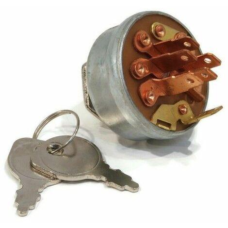 Contacteur à clé tracteur tondeuse Toro moteur Kohler