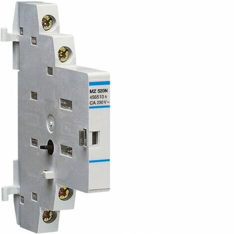 Contacteur auxiliaire pr disj moteur 10+1F (MZ520N)