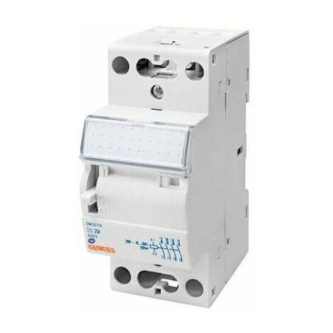 Contacteur CTRM - 25 A - 2 modules - 230 V - Gewiss