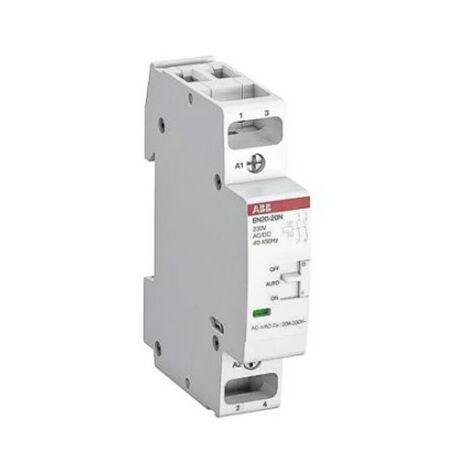 Contacteur EN20 - 2P - 230V - 20A - 2N/O - 2 modules