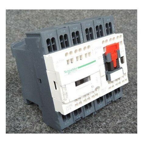 Contacteur inverseur 3P AC 3 440V 9A bobine 24Vcc TeSys LC2D SCHNEIDER LC2D093BL