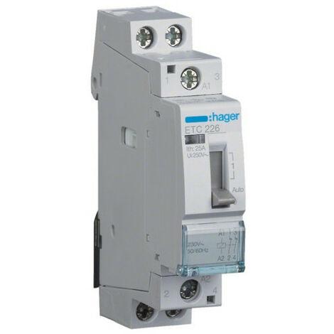 Contacteur J/N 25A 2O 230V (ETC226)