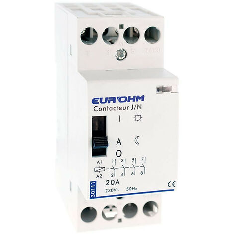 Contacteur J/N 4P 20A 4F (30111)