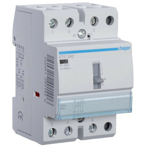 Contacteur JN 40A, 3F, 230V (HAG ETC340)