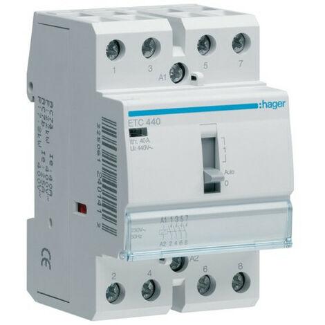 Contacteur JN 40A, 4F, 230V (HAG ETC440)