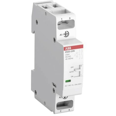 Contacteur modulaire Abb 20A 2NO 230V C/COM EN2020N06