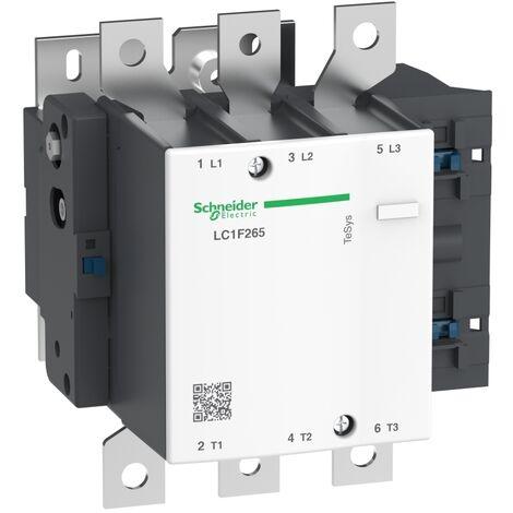 Contacteur nu LC1F 3P AC3 440V 265 A sans bobine - LC1F265