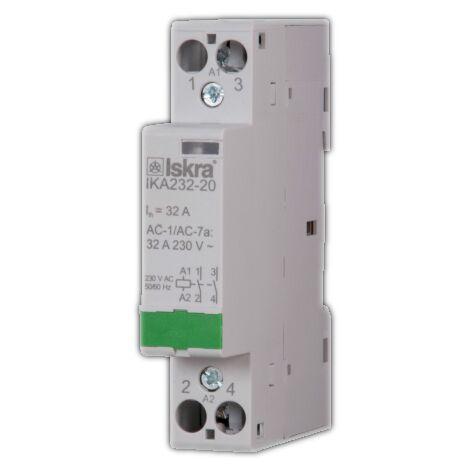 """main image of """"Contacteur rail DIN 32A pour Smart Meter Qubino - Iskra"""""""