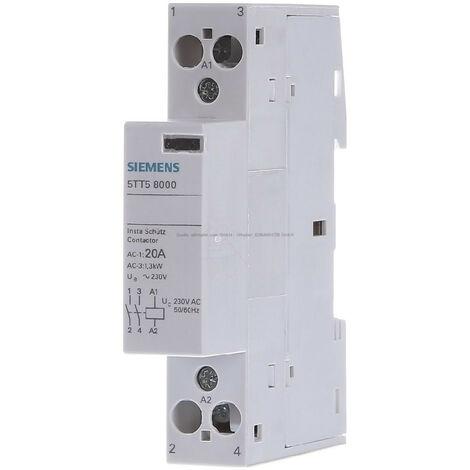 """main image of """"Contacteur Siemens 2NO 20A 220VAC 1M 5TT58000"""""""