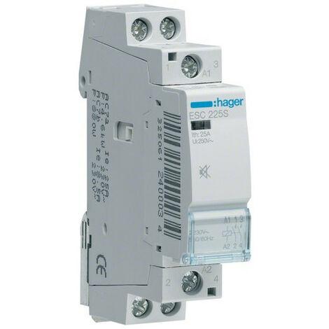 Contacteur Sil. 25A 2F 230V (ESC225S)