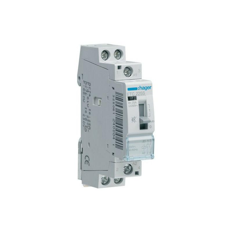 Contacteur Sil Jn 25a 2f 230v Etc225s