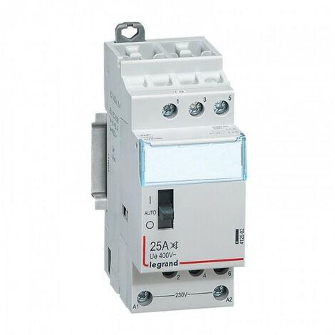 "main image of ""Contacteur Standard Heures Creuses Lexic - 3P - 400 V - 25 A - 3F (412502)"""
