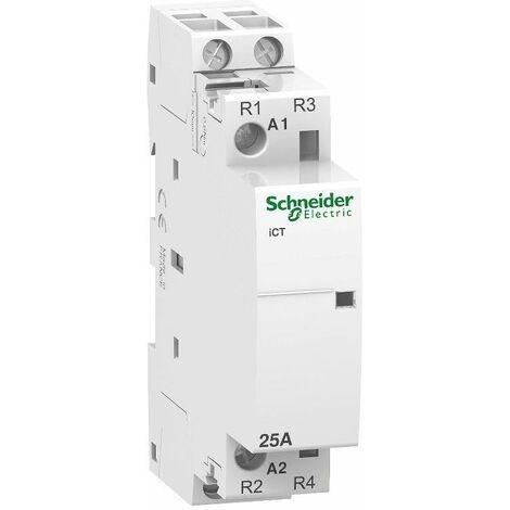 Contactor modular iCT 25A 2NC 230-240V Schneider A9C20736