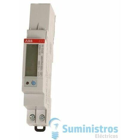 Contador de energia digital ABB C11 100-300 40A 1 Mod