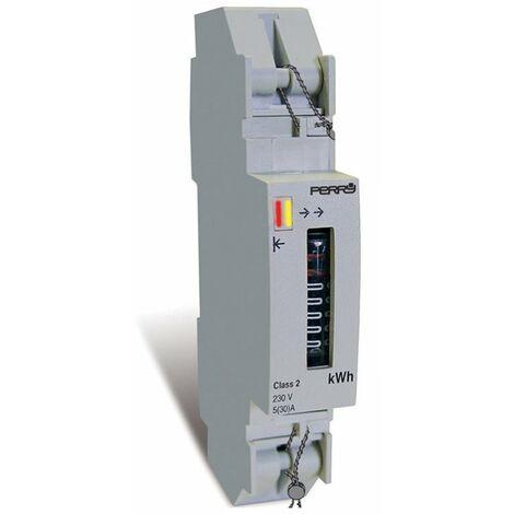 Contador de energía monofásico 1 DIN Perry 1SDSD06CEM/1