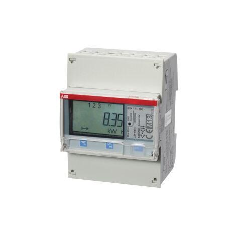 CONTADOR ENER. B24 111-100 ACERO ABB 2CMA100177R1000