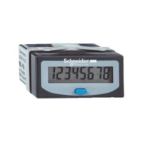 CONTADOR HORARIO ELECT.LCD BAT. 8 NUM. SCHNEIDER ELECTRIC XBKH81000033E