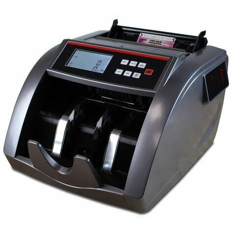 Contadora valoradora y totalizadora Yatek 797 de billetes Euro y Dolar, puede contar y dar el importe total de billetes mezclados con 4 métodos de detección