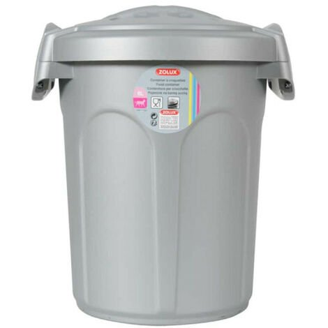 Container plast 8L gris