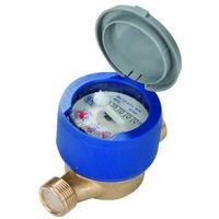 Contatore per acqua fredda lettura diretta con raccordi 1/2 asciutto Gioanola