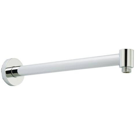 Contemporary Chrome Wall Mounted Shower Arm 345mm