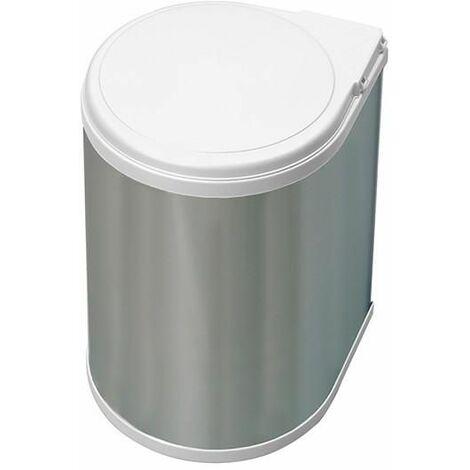 Contenedor cilíndrico de 1 vaso (13 litros) inox