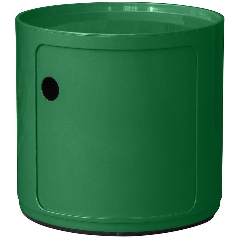Contenedor Componibili 1 compartimento Anna Castelli Ferrieri Verde oscuro