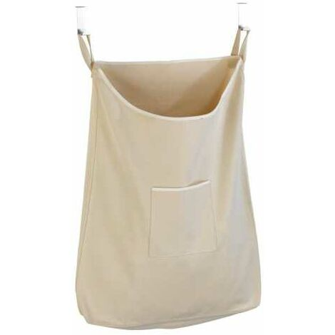 Contenedor de ropa sucia para la puerta Canguro beige WENKO