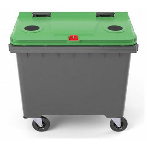 Conteneur 660 litres pour le tri sélectif (plusieurs tailles disponibles)