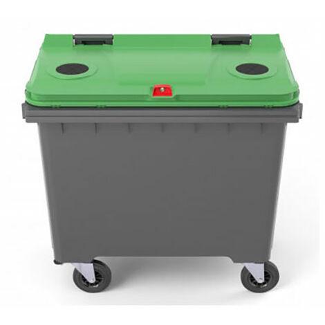 Conteneur 770 litres pour le tri sélectif (plusieurs tailles disponibles)